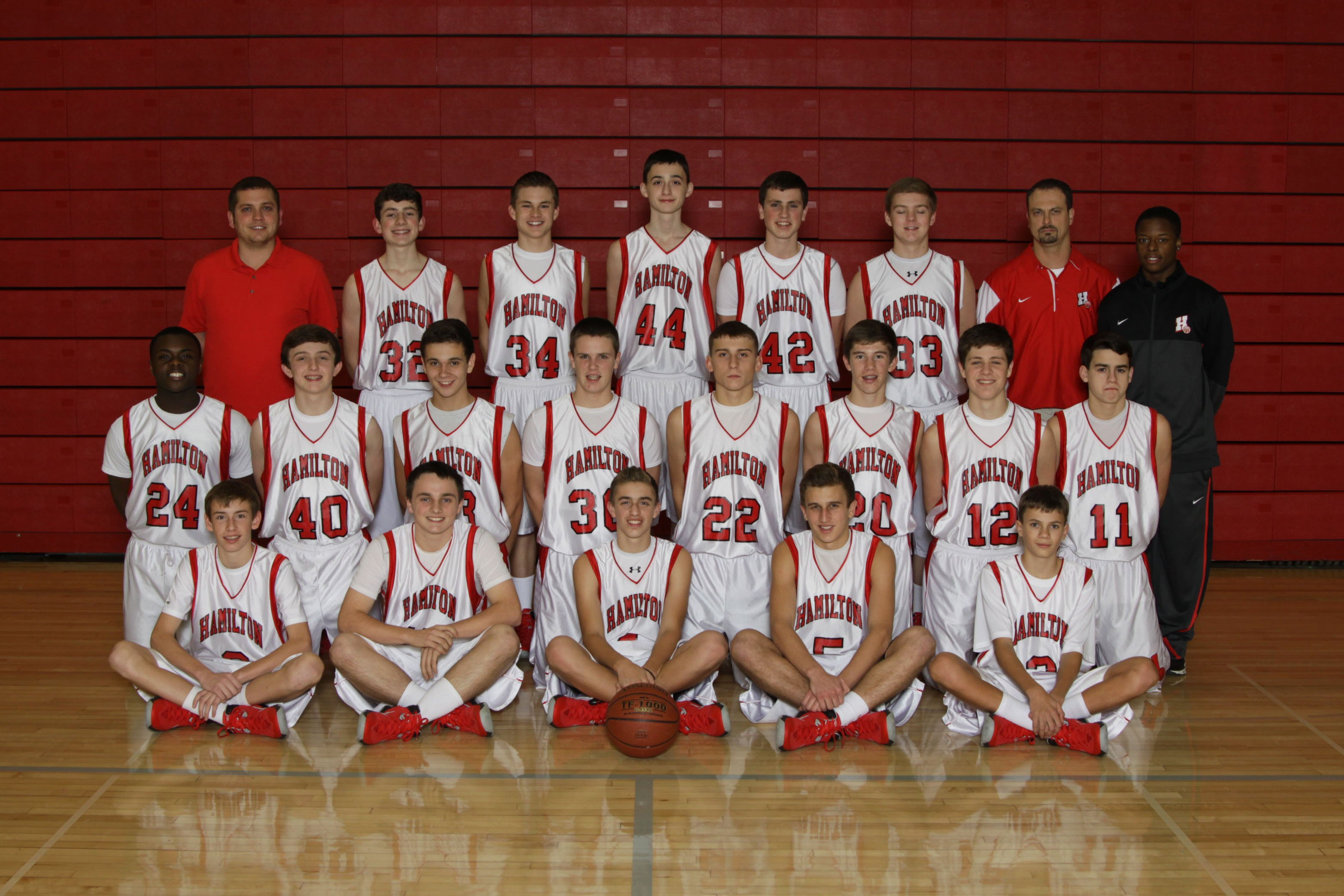 Boys Basketball Hamilton School District