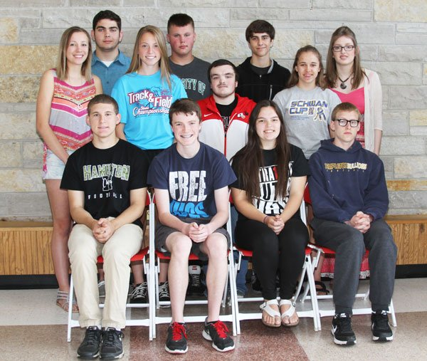 Hamilton High School May 2016 Students of the Month
