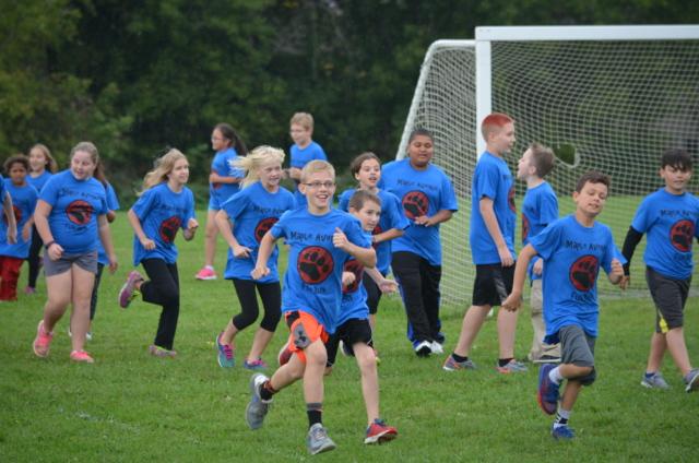 Maple Avenue Fun Run - Blue Shirts