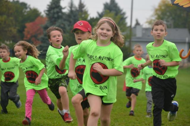 Maple Avenue Fun Run - Green Shirts