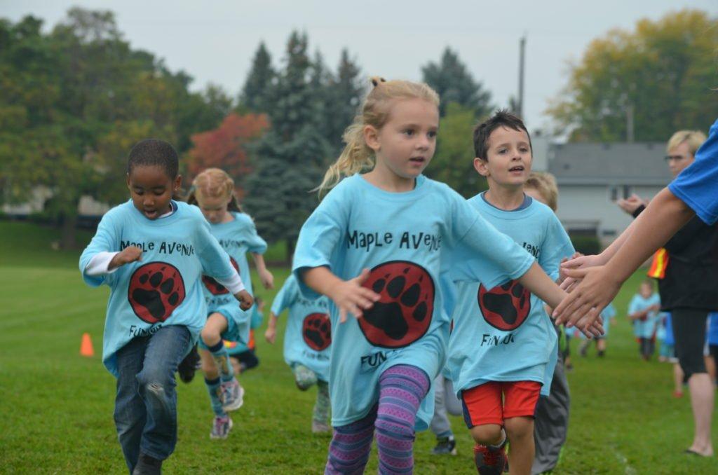 Maple Avenue Fun Run - Sky Blue Shirts
