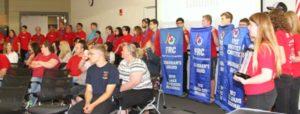 HHS-Robotics-Team-Banners-Held