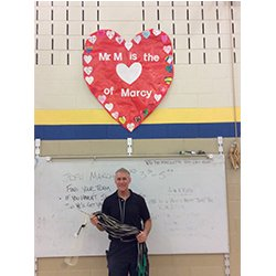 Photo of A Matthiesen with Heart and jump ropes