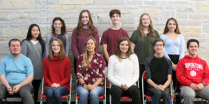 Hamilton Sept. students of the month photo