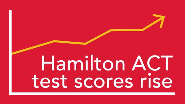 Hamilton ACT test scores rise