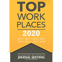 Top work places 2020 award