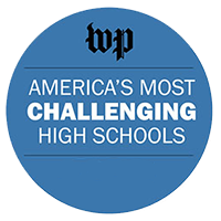 WP America's most challenging high schools award