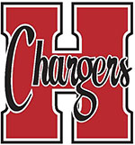Chargers red H logo