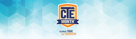 Career and Technical Education Month logo