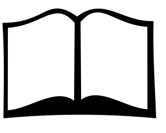 image of open book for class listings